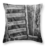 Whispering Walls  Throw Pillow