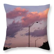 Whispers Of Sunset Throw Pillow