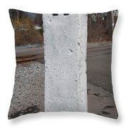 Whistle Post Throw Pillow