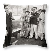White Flannels, 1927 Throw Pillow