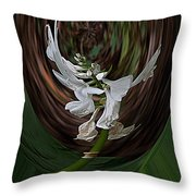 White Flight Throw Pillow