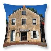 White Hall Tavern Harpers Ferry Virginia Throw Pillow