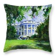 White House Throw Pillow