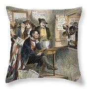 White League, 1874 Throw Pillow