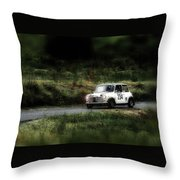 White Mini Innocenti Austin Morris Throw Pillow