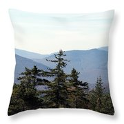 White Mountain National Forest I Throw Pillow