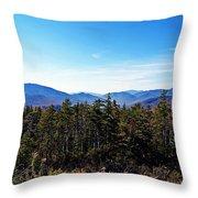 White Mountain National Forest II Throw Pillow