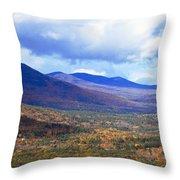 White Mountains Vista Throw Pillow