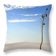 White Sands National Monument 1 Throw Pillow