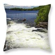 White's Falls Throw Pillow