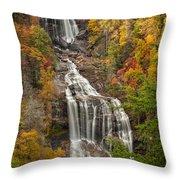 Whitewater Falls 1 Throw Pillow