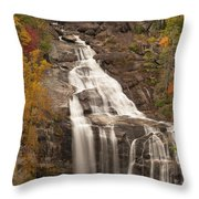 Whitewater Falls 3 Throw Pillow
