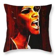 Whitneys Tears Throw Pillow