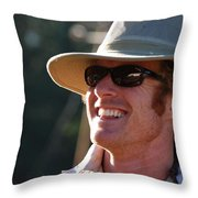 Whole Lot Of Hilarity Throw Pillow