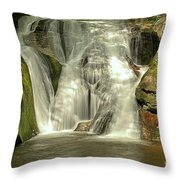 Widows Creek Falls Throw Pillow
