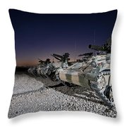 Wiesel 1 Atm Tow Anti-tank Vehicles Throw Pillow