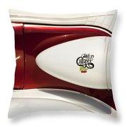 Wild Cherry Throw Pillow