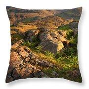 Wild Fern Throw Pillow