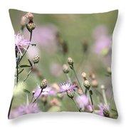 Wild Flowers - Just Wild Throw Pillow