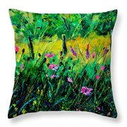 Wild Flowers 451190 Throw Pillow