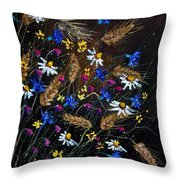 Wild Flowers 452150 Throw Pillow