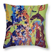Wild Flowers104 Throw Pillow