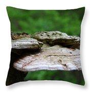 Wild Fungi Throw Pillow