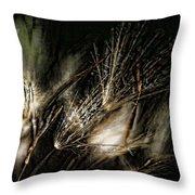 Wild Grasses Throw Pillow