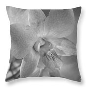 Wild Maui Orchid Throw Pillow