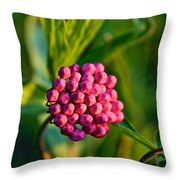 Wild Weed Throw Pillow