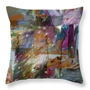 Wild Wind Throw Pillow by Tanya Jacobson-Smith