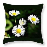Wildflower 4 Throw Pillow