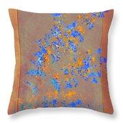 Wildflower Art Throw Pillow