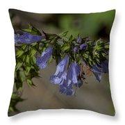 Wildflower Beauty Throw Pillow