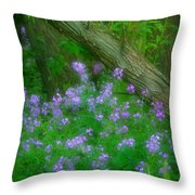 Wildflower Dreams Throw Pillow