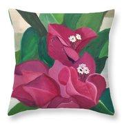 Wildflowers 2 Throw Pillow