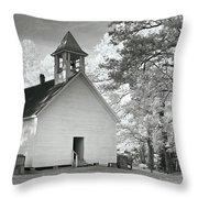 Wildwood Church Throw Pillow