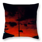 Wildwood Sunset Throw Pillow