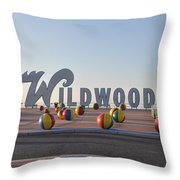 Wildwoods Throw Pillow