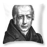 Wilhelm Von Humboldt Throw Pillow