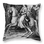 Wilhelmina Of Prussia Throw Pillow