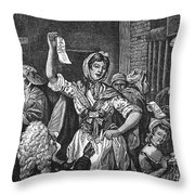 Wilkes And Liberty Riots Throw Pillow