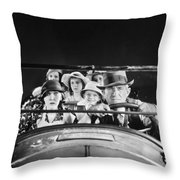 Will Rogers (1879-1935) Throw Pillow