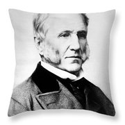 Willard Parker, American Surgeon Throw Pillow