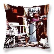 Willburn Furniture And Restoration Needs Restoring Throw Pillow