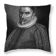 William Ames (1576-1633) Throw Pillow