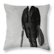 William Buckland, English Paleontologist Throw Pillow