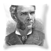 William D. Washburn Throw Pillow