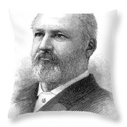 William Henry Hatch Throw Pillow