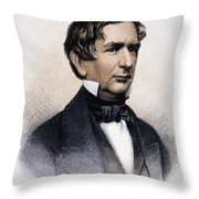 William Henry Seward Throw Pillow